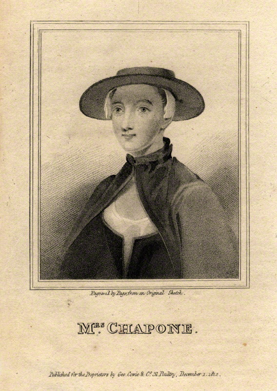 Hester Mulso Chapone (1727-1801)