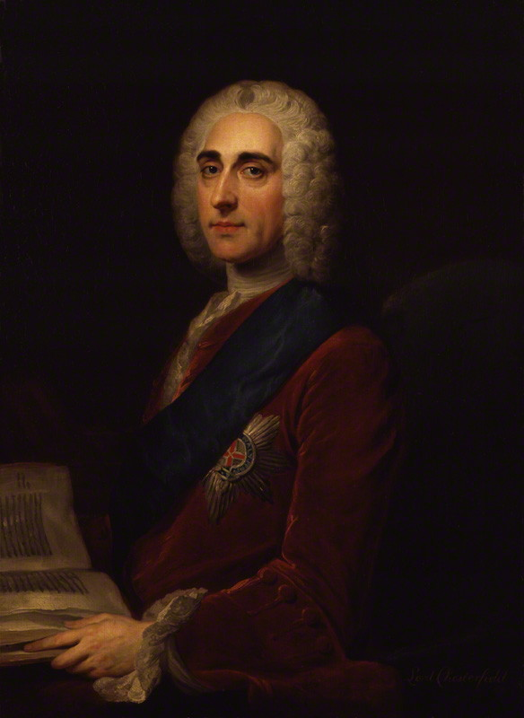 Lord Chesterfield (1694-1773)