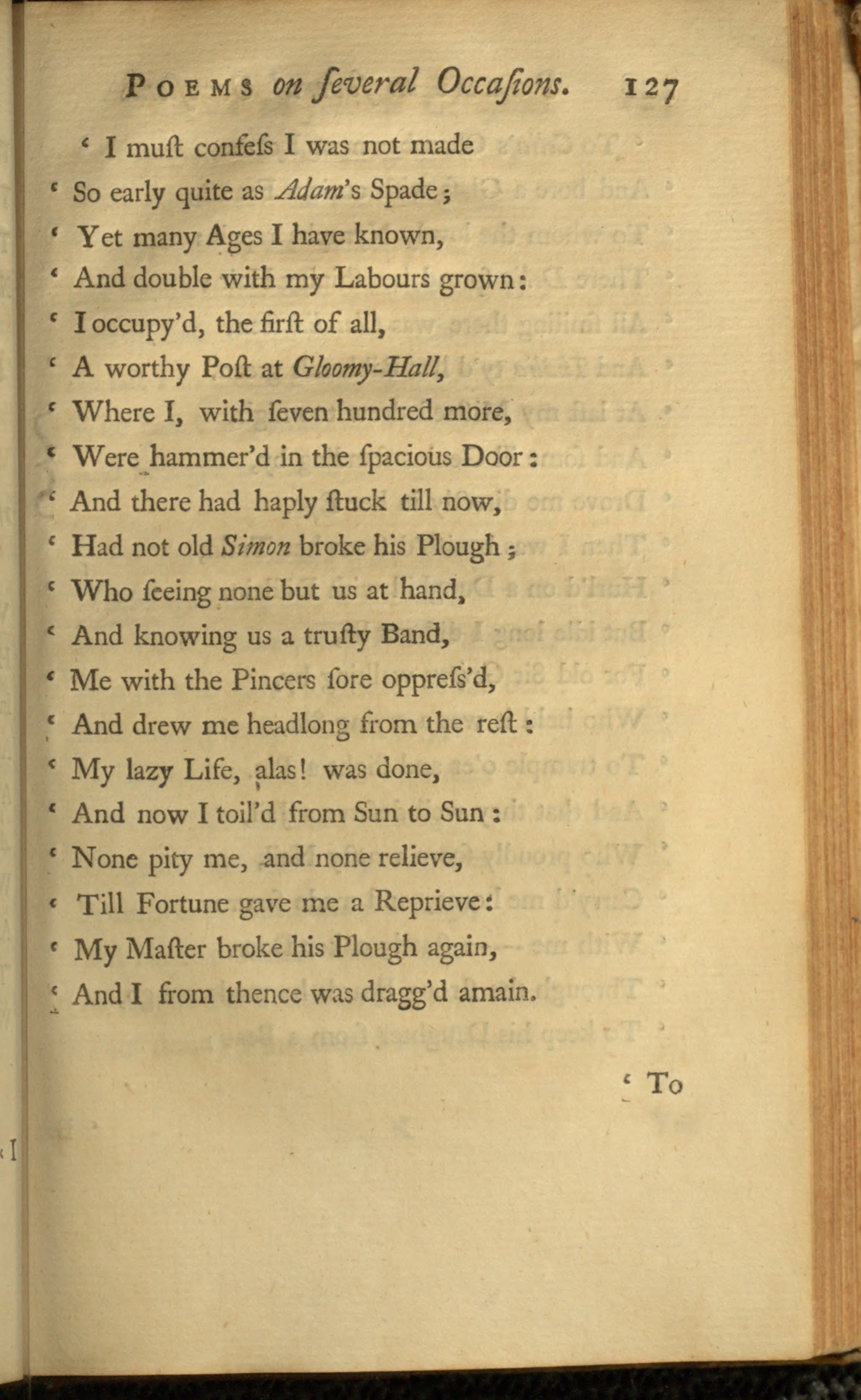 the eighteenth century poetry