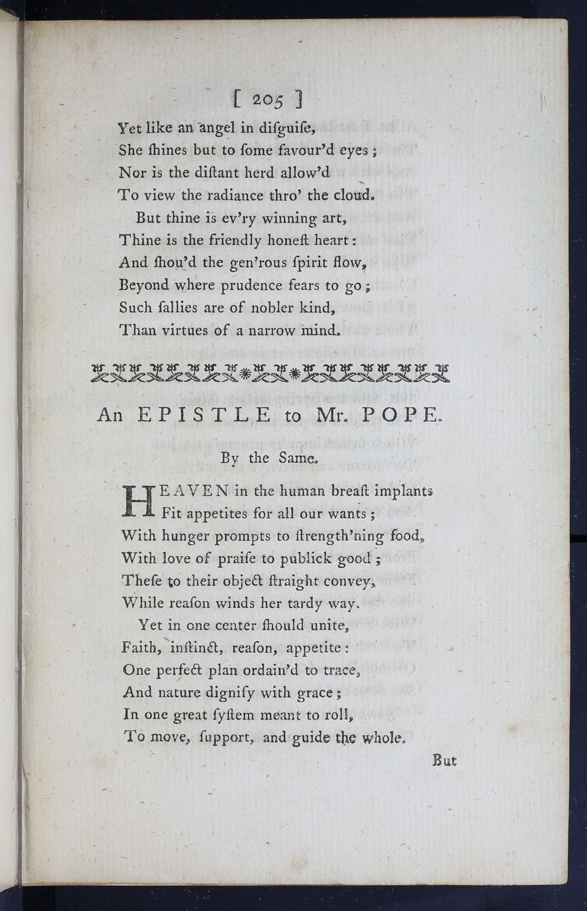 an epistle to mr pope