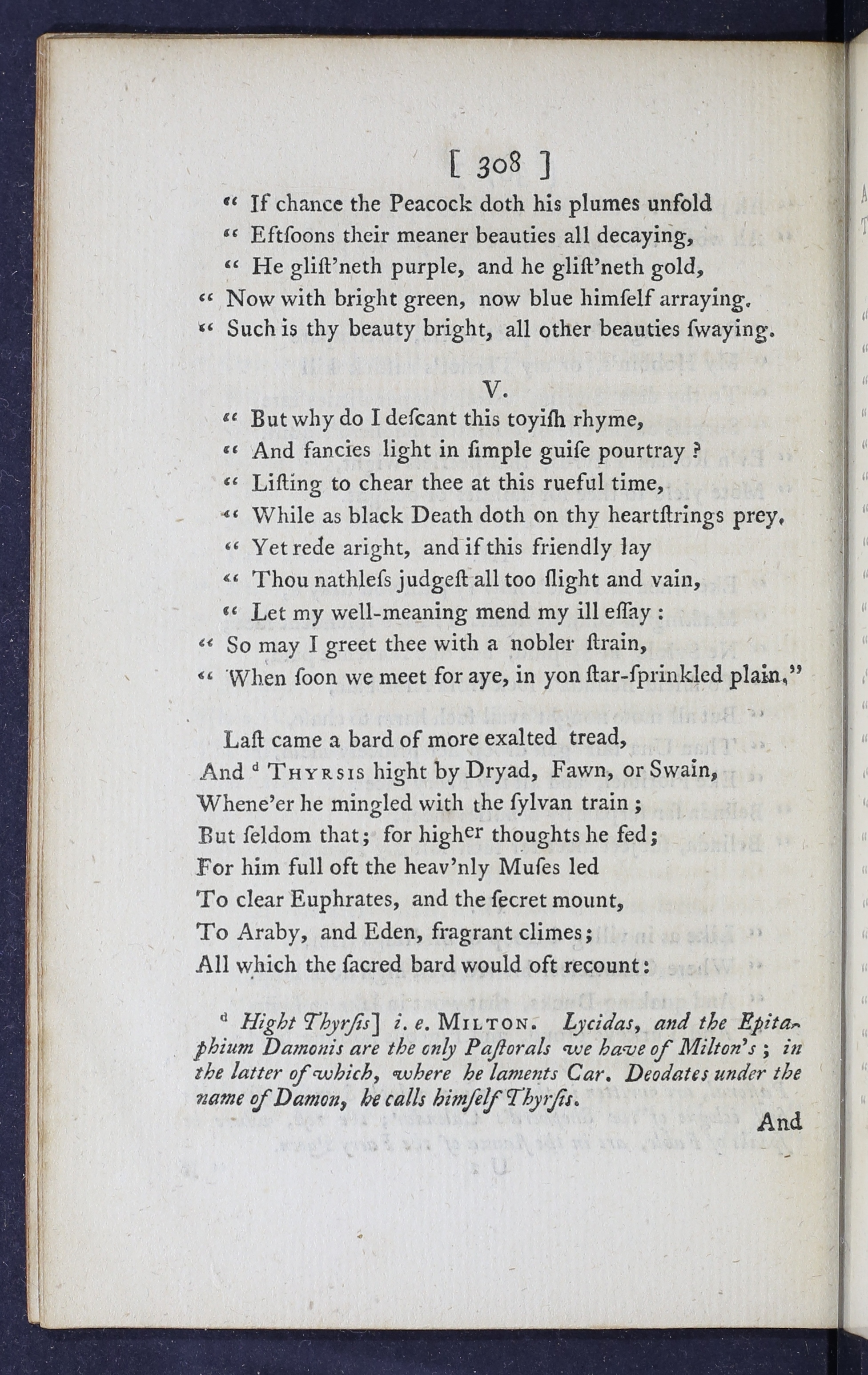 Eighteenth Century Poetry Archive Works Musaeus A Monody To The