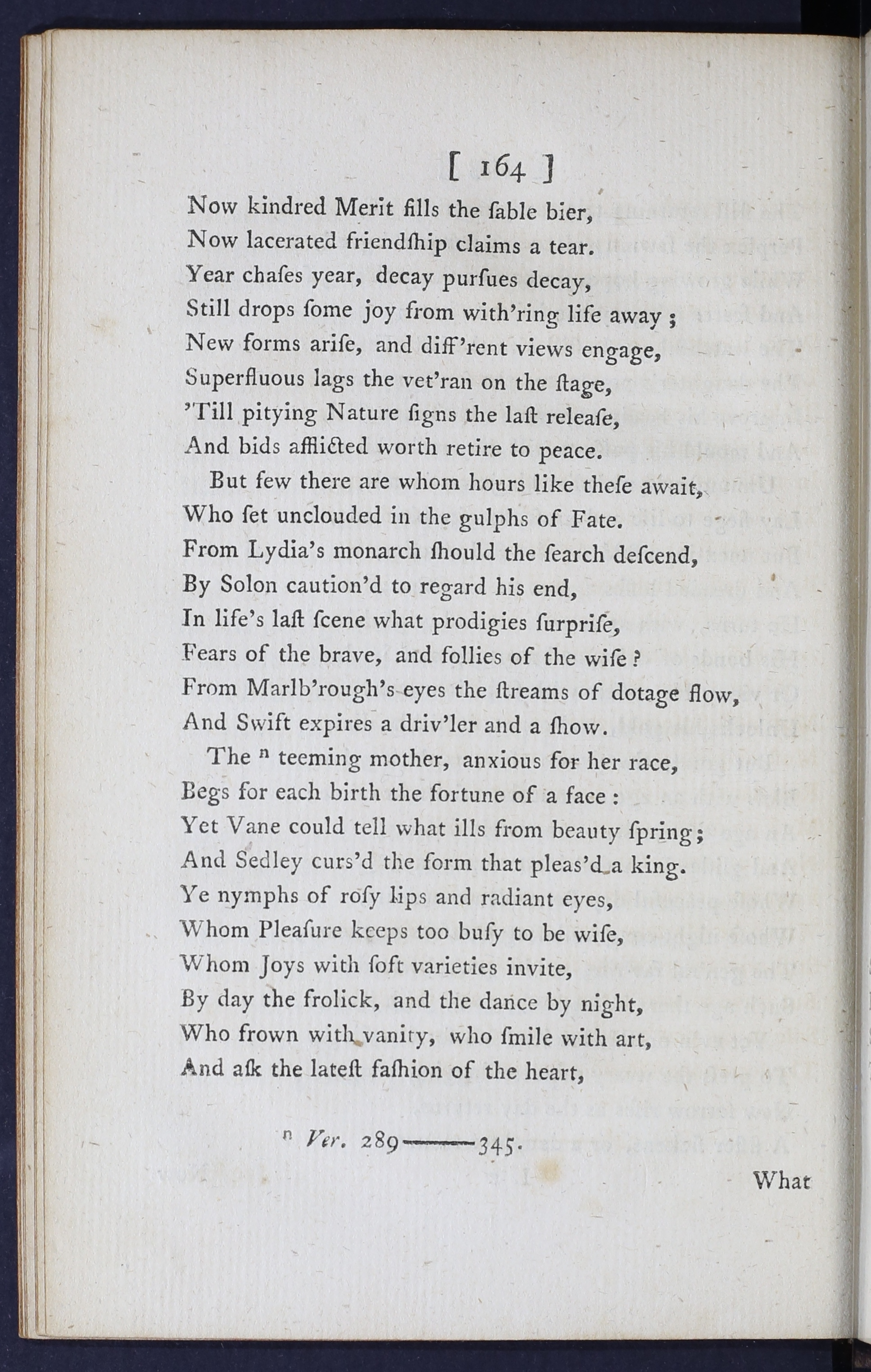 Eighteenth Century Poetry Archive Works The Vanity Of